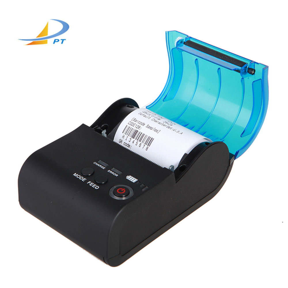 58mm mini portable BT Wireless Blue Tooth thermal receipt printer from china printer manufacturer