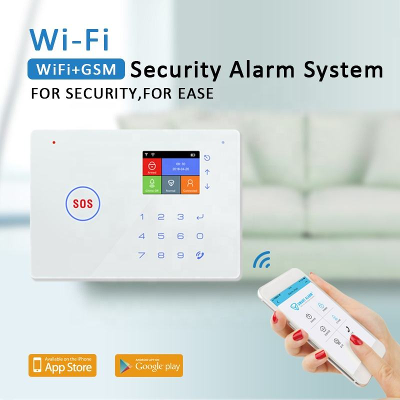 2020 Newest Smart Home Alarm WIFI+GSM Laser Security Alarm System