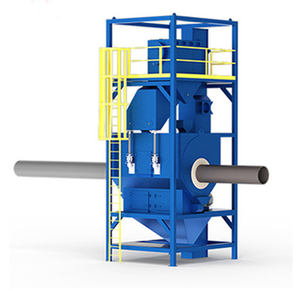 Pass Through Short Blasting Machine Used for Steel Structure Blast Cleaning