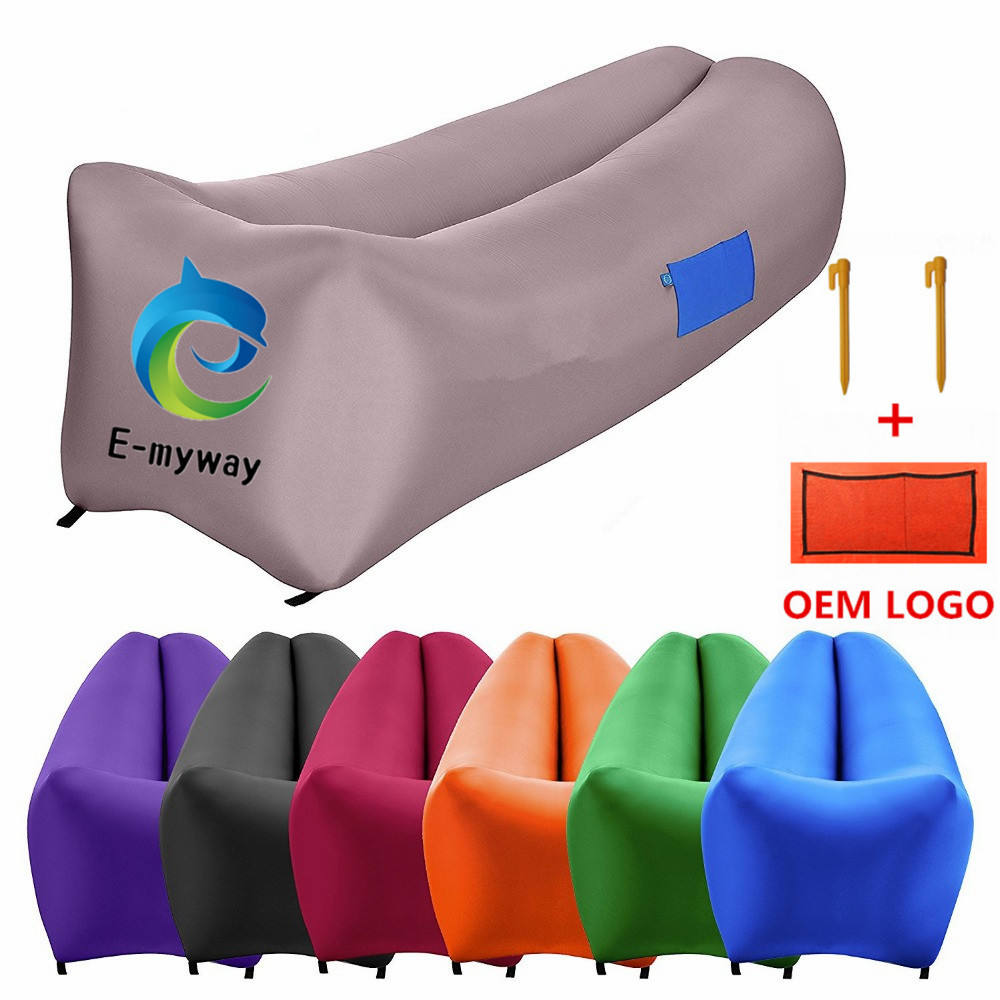 high quality Summer lazy Air bag lounge Inflatable sofa