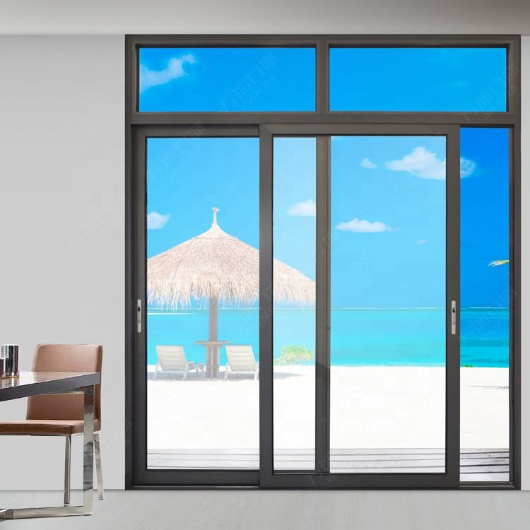 Customized glass window and door for sale