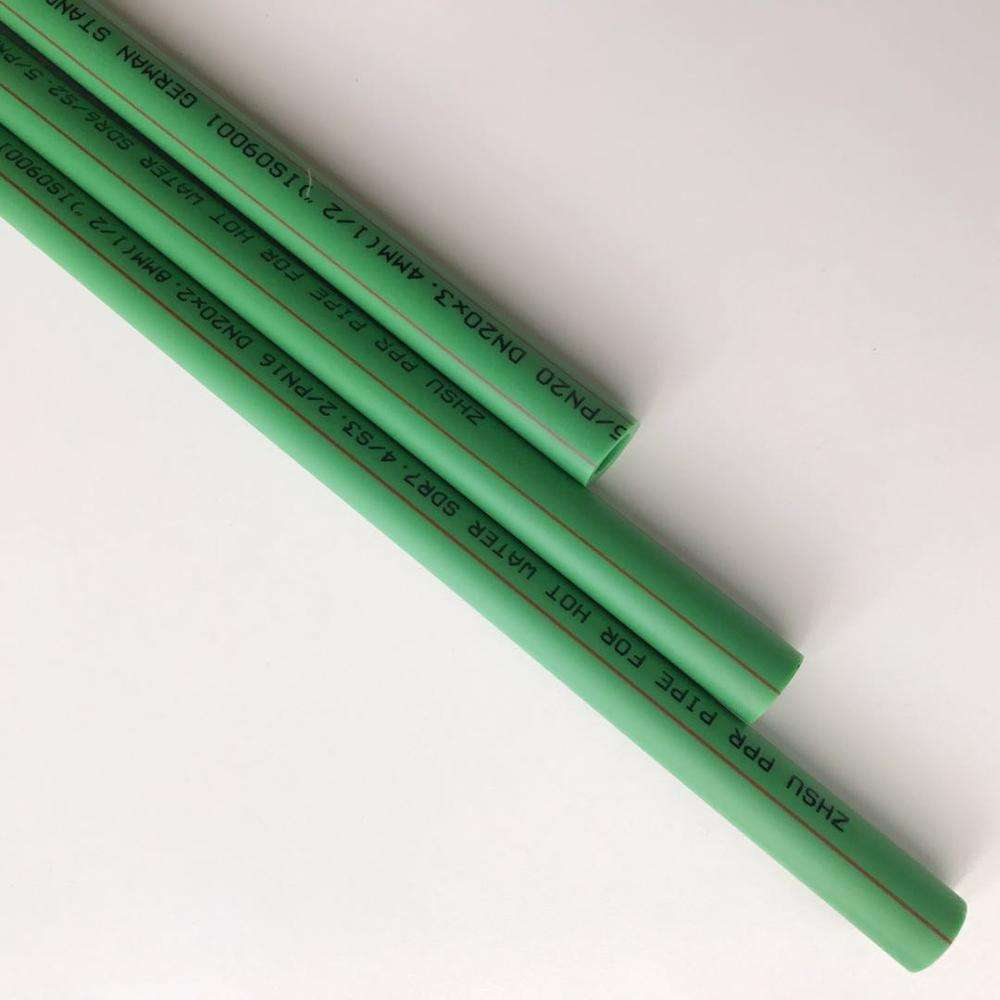 China factory polypropylene pipe PPR green pipe
