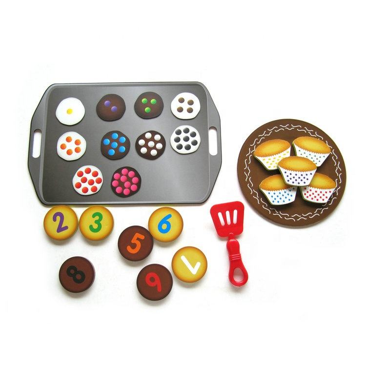 Magnetic Kitchen toys Magnetic sweets sort & play set Cake and dessert magnet toys