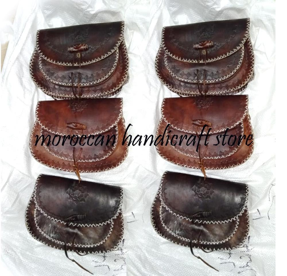 Tooled leather bag Woman's Leather purse, brown womans bag, sacoche femme sac a bandouliere cuir