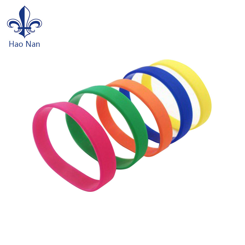 Wholesale Blank Bulk Cheap no minimum free shipping custom silicone wristband