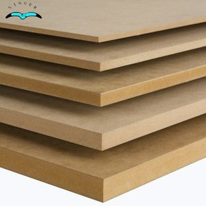 Shanghai Qinge 18mm plain mdf board für dekorative