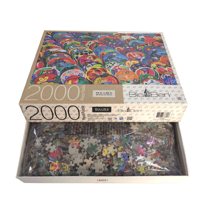 Big Ben colorful jigsaw puzzle 2000 pieces for adult