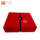 Custom printed luxury cake sliding red and black gift boxes packaging