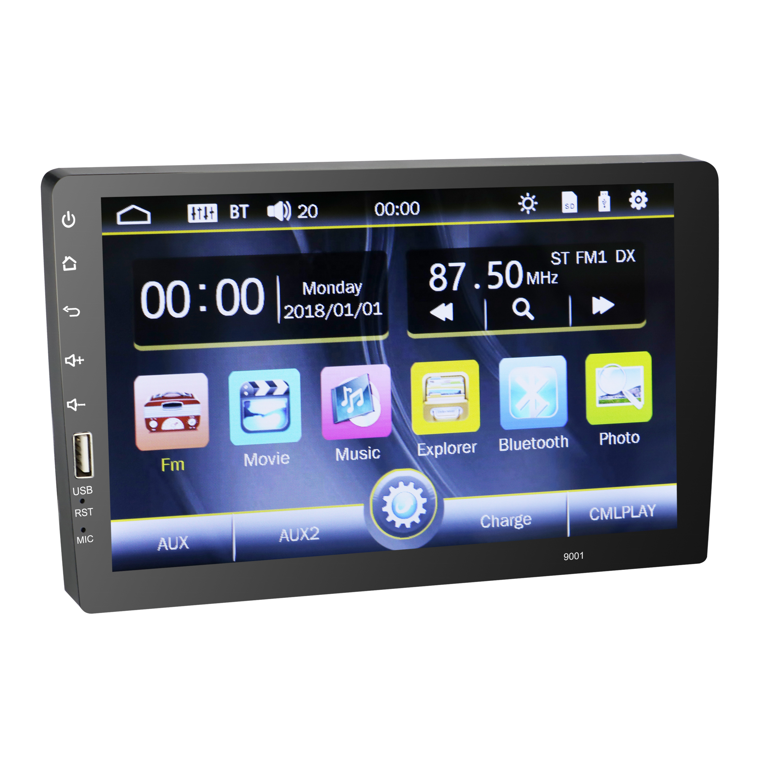 Car DVD Player Android bluetooth Adapter Multimedia Car Entertainment System Car DVD Player