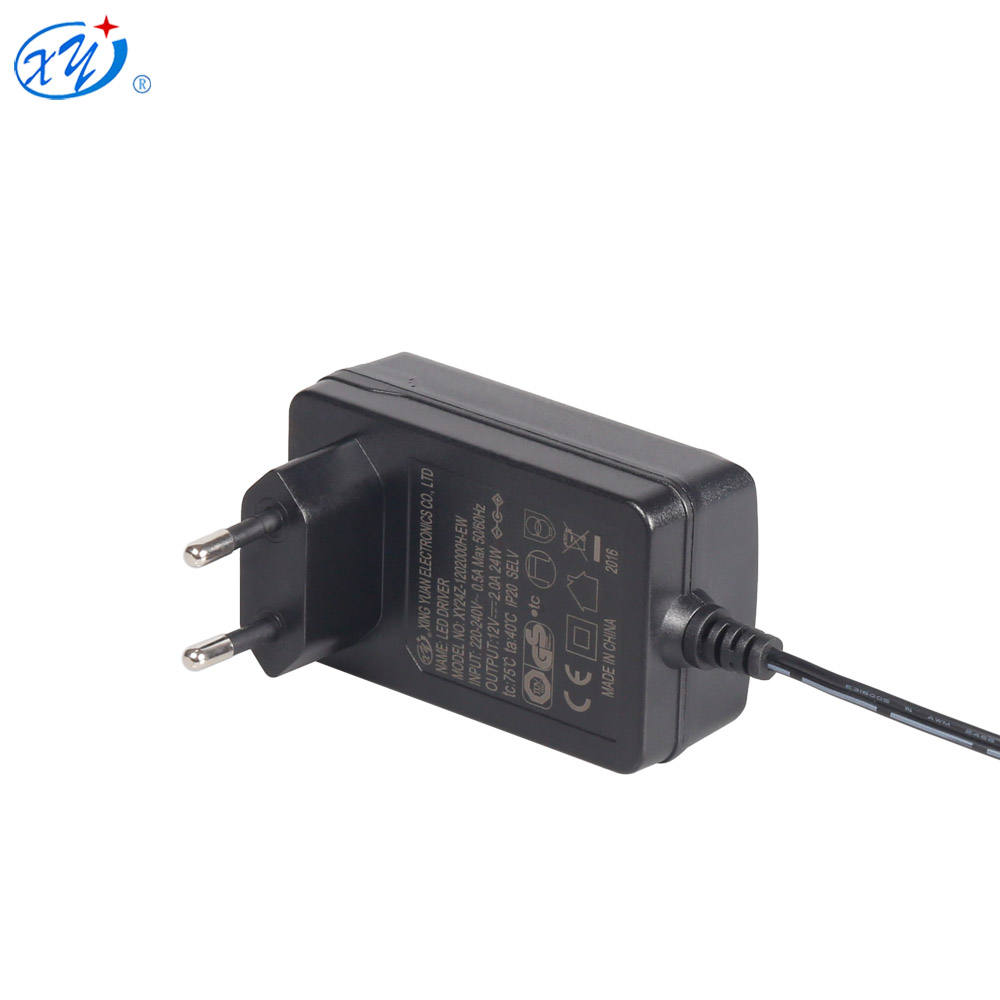 CE GS TUV certificated Wall mount 12v 2a ac dc adapter power supply for led lights