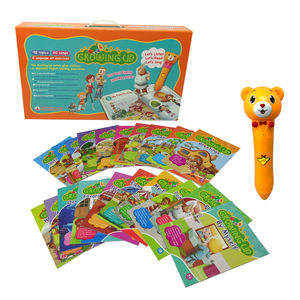 Children English Teaching Books Growing Up Talkingpen Reading Speaking Study Audio Books Themes Pictures Educational Best Toys