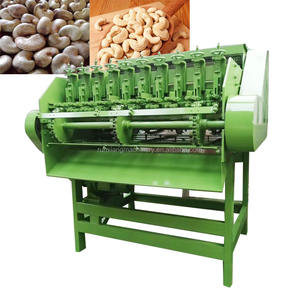 Kommerziellen high speed 10 messer Cashew screening cracker maschine