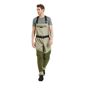 High quality durable chest water waterproof coating 3/5 layer breathable chest waders