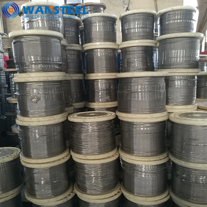 1x7,7x7,1x19,6x19 + FC/IWS corda prezzo/sollevamento/funivia/Stainless Steel Wire Rope/aircraft Cavo