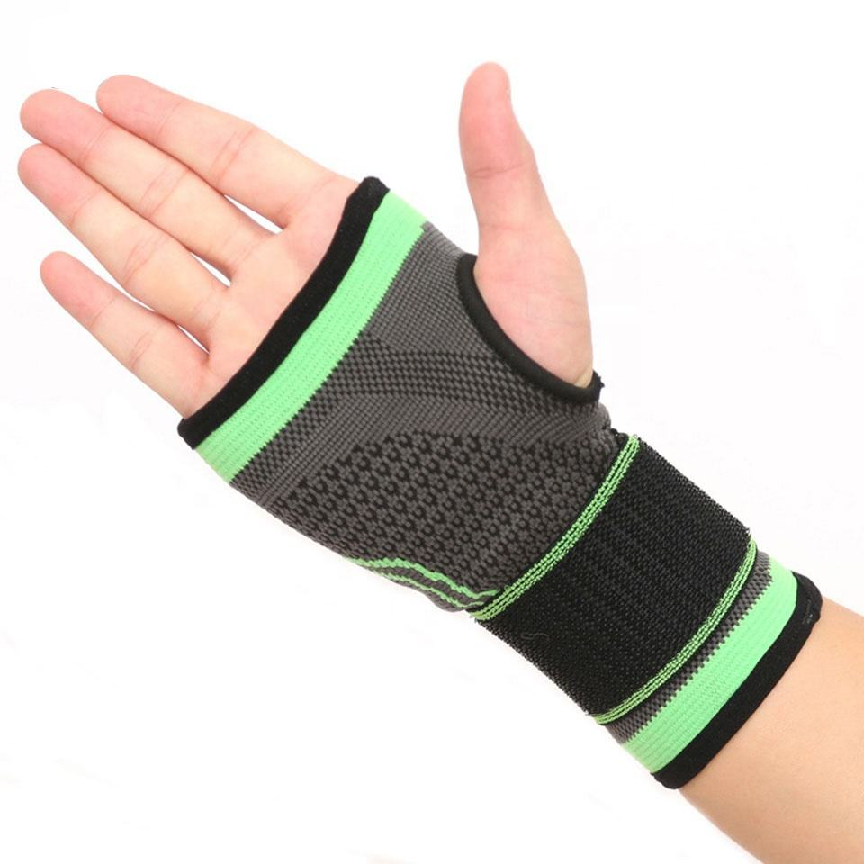 Sports Compression Wrist Sleeve Support For Joint Pain Tendonitis Sprains