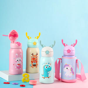 wholesale 500ml thermo 18/8 kids stainless steel thermos water bottle