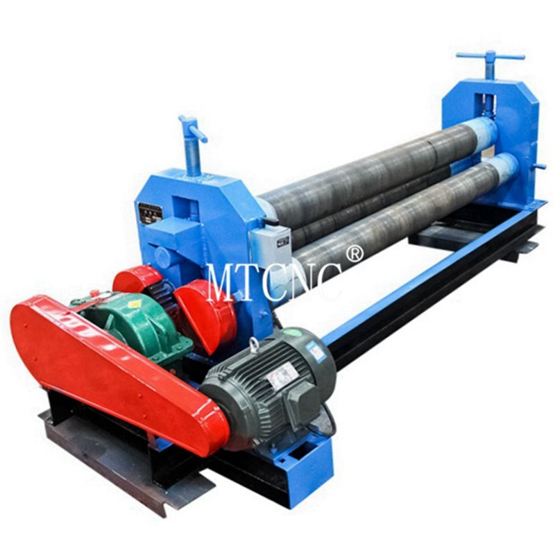 Mechanical 3 - roller steel rolling machine metal sheet rolling machine with short produce time