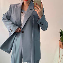 Hot Trendy  Oversize Office Lady Blazer Suits Fashion  Latest Design Women Blazer