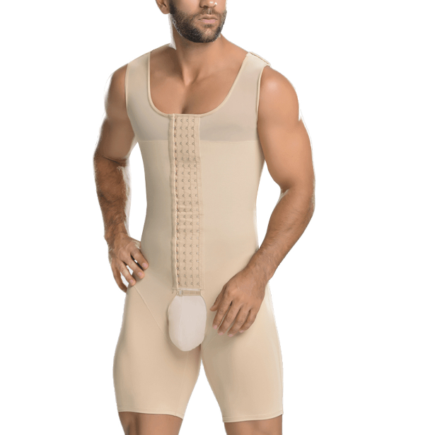New Design Bodywear Men's Slimming Body Shaper Compression Slim Fit Shapewear Man Body Shaper Bodysuit SL270