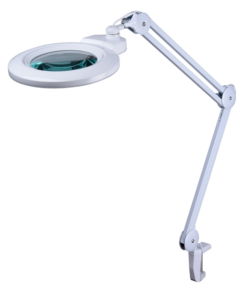 9006LED-127 patent magnifier lamp! magnifying desk clamp lamp ! factory price! switch 3D&5D&8D lens by hands!!
