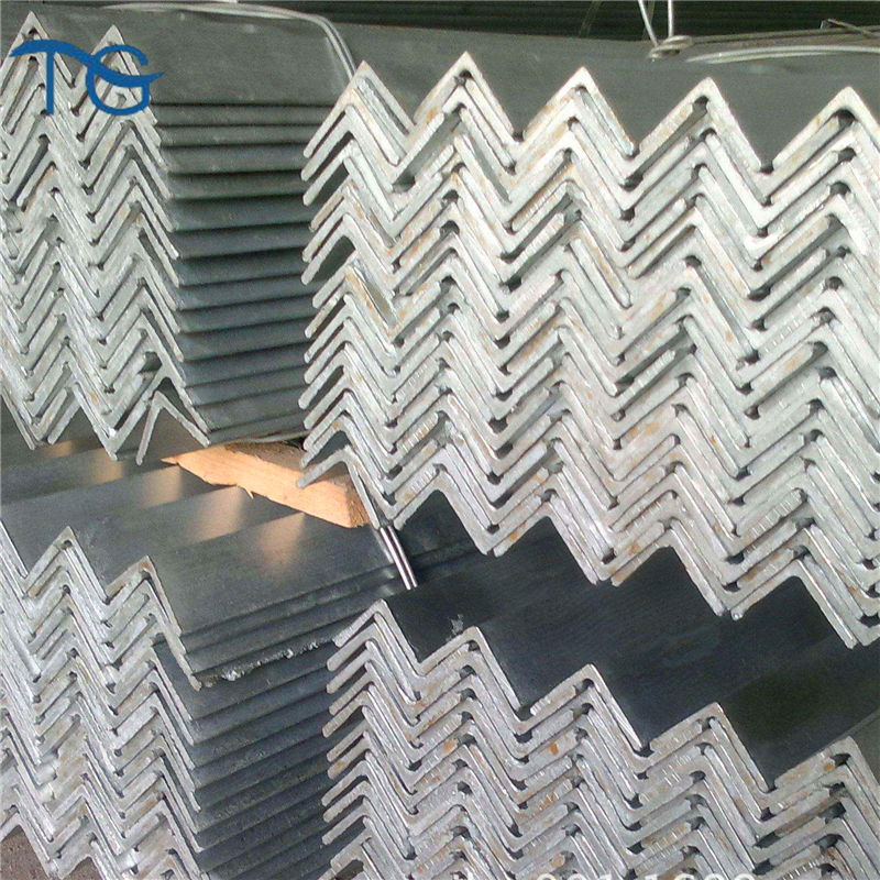 Hot dipped galvanized angle steel/ angle iron sizes / steel angle bar