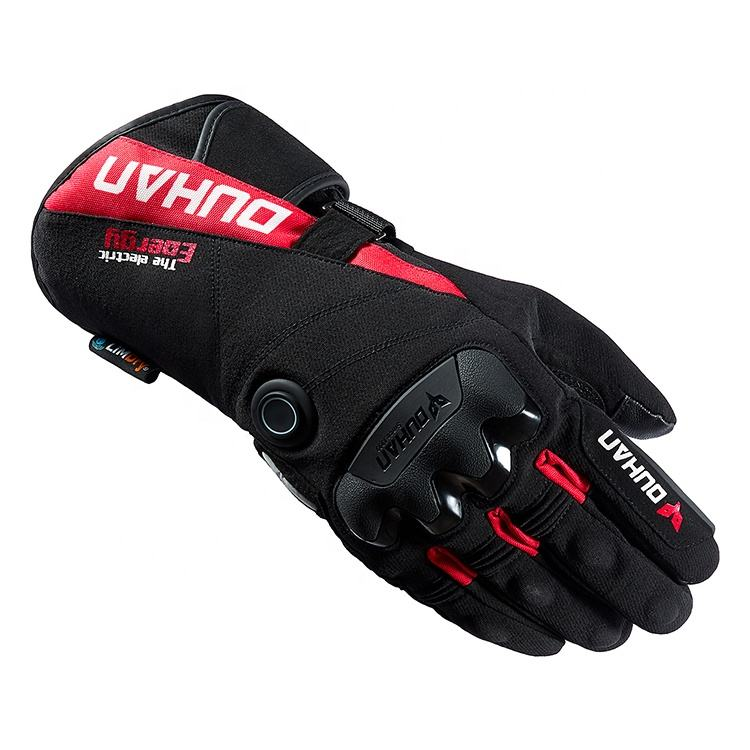 DUHAN Winter Windproof 100% Waterproof Motorcycle Electric Heated Gloves