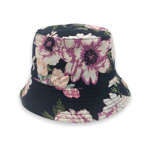 Wholesale outdoor beach custom embroidery cheap multi-color bucket fishing hat