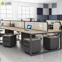 MFC desktop office desk partition modern linear office partition workstation