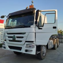 Uzbekistan Second Hand 420HP 10 Tyres 6X4 China Howo CNG Tractor Truck for Sale