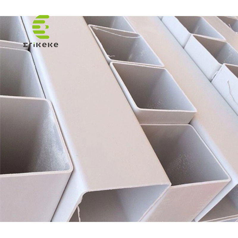 100*100mm size can be customized PVC Pipe Square Tube