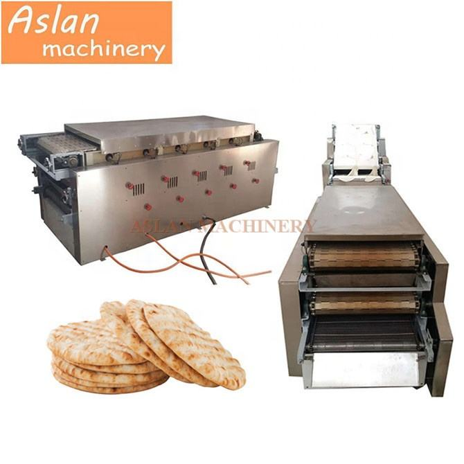electric tunnel oven whole wheat pita roti production line/20cm round pizza bread sheet press maker/Factory supply dumpling skin