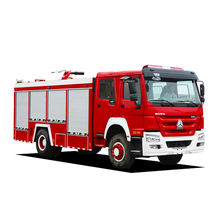 10cbm fire truck engine water fire extinguisher truck