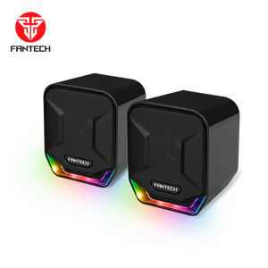 Fantech 2020 Gaming USB 2.0 RGB Portatile Super Bass 45 MILLIMETRI Driver Multimedia Gaming Altoparlante