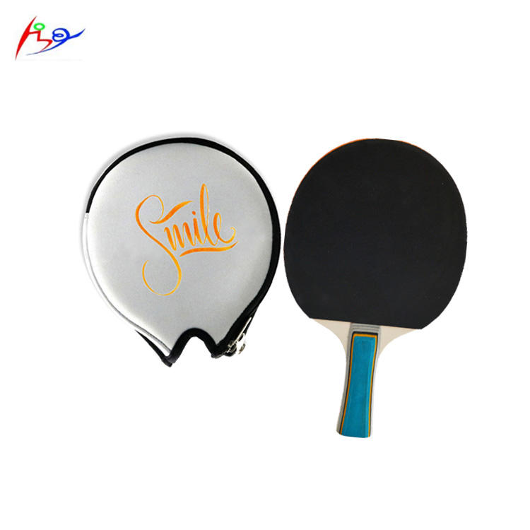 Ping <span class=keywords><strong>Raket</strong></span> Set <span class=keywords><strong>Dayung</strong></span> Holder Logo Kustom Sublimasi Neoprene Wearable <span class=keywords><strong>Tenis</strong></span> Meja <span class=keywords><strong>Raket</strong></span> Bat Case