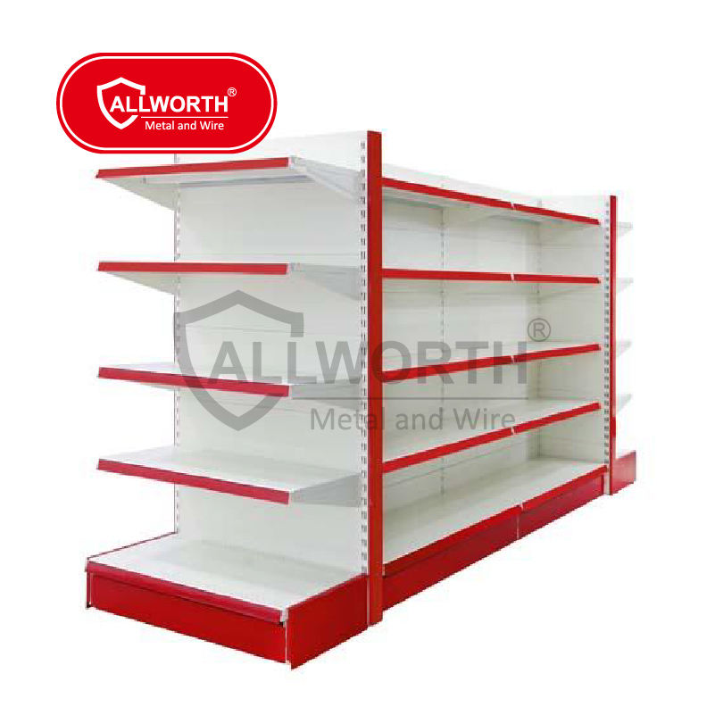 ALLWORTH Wire Metal Supermarket Shelves , Supermarket Shelving ,Supermarket Rack
