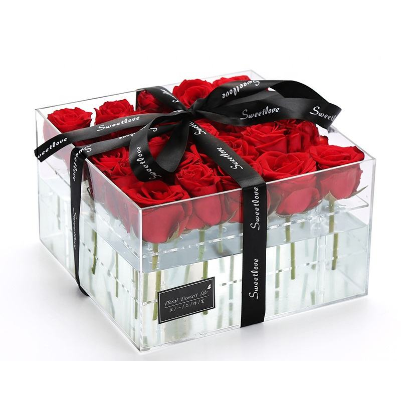 Wholesale Forever Lasting Preserved Fresh Preserved Roses In Gift Box