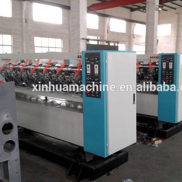 thin Blade Slitter Creaser machine for corrugated production line