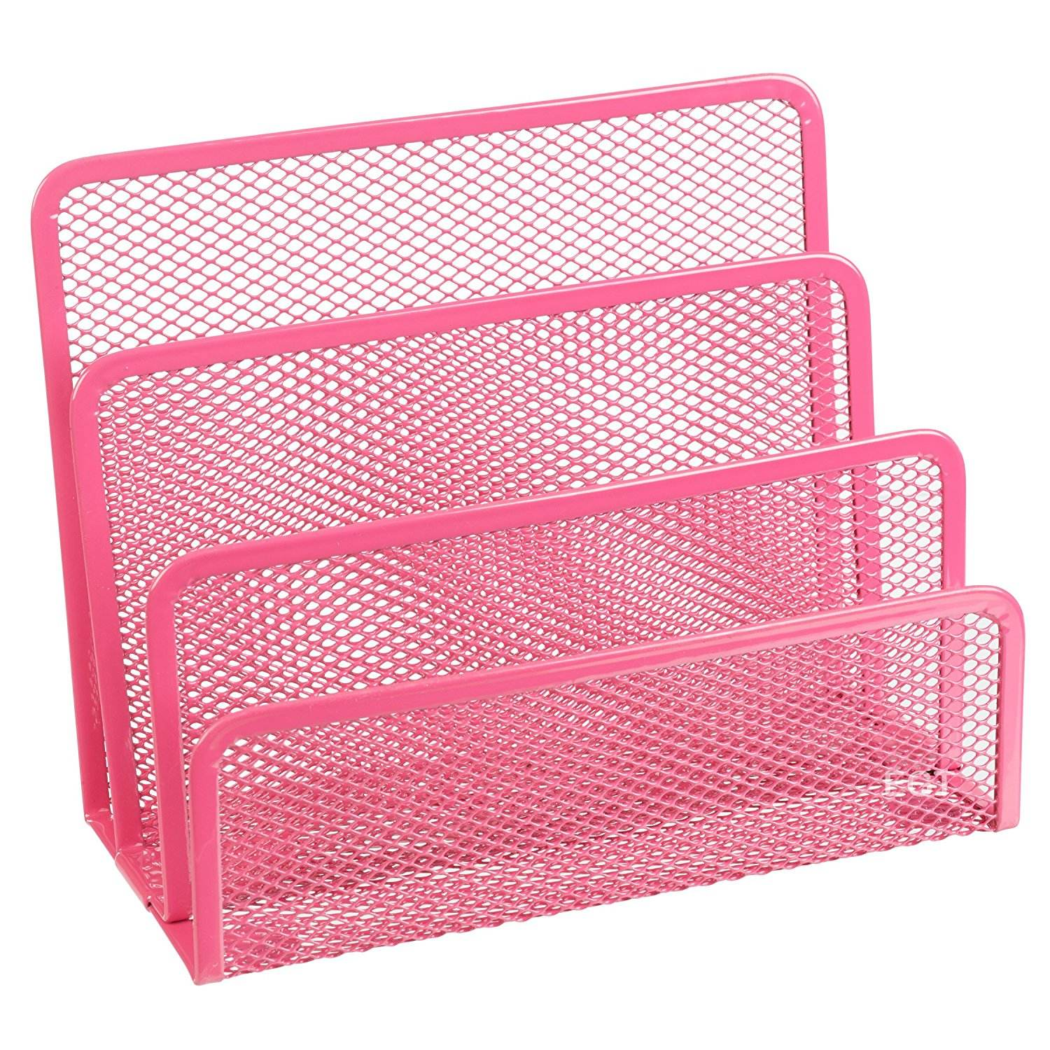 Wideny international design desktop organizer holder office school home supply wire metal mesh 3 slots letter holder