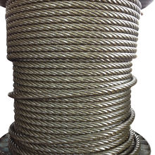 10MM-30MM Multifunctional Sling Tow Boat Ungalvanized Steel Wire Rope