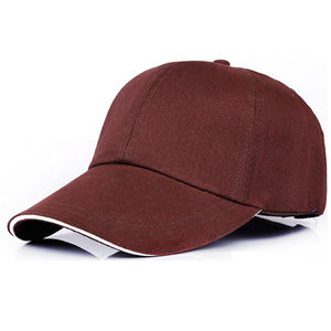 wholesale cheap high quality solid colors baseball hat sport running caps with custom embroidery logo