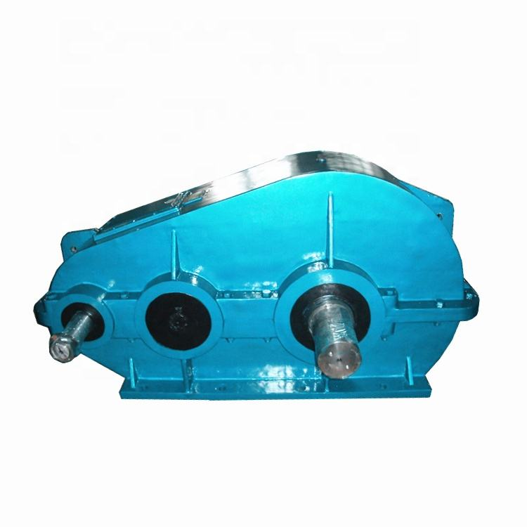 ZQ 500 small gear reduction boxes Gearbox speed reducer 3 phase electric motor