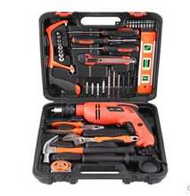 43PCS  Electronics Tool Kits Complete Hand Power Tool with Impact Electric Drill