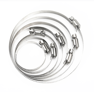 HVAC hose clamp stainless steel clamp for air duct