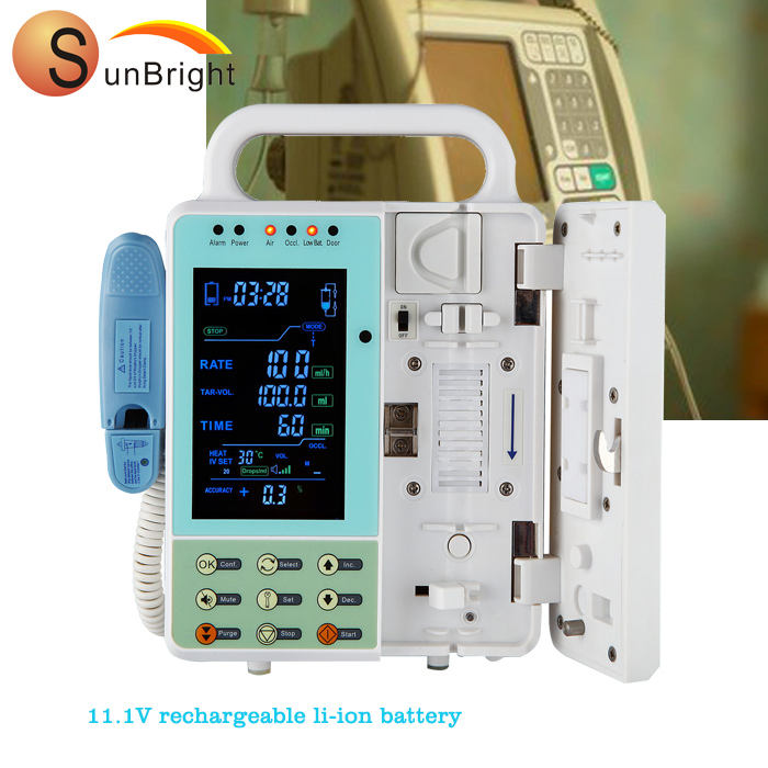 infusion pump CE ISO approved portable automatic Infusion Pump in hospital ICU Medical equipment