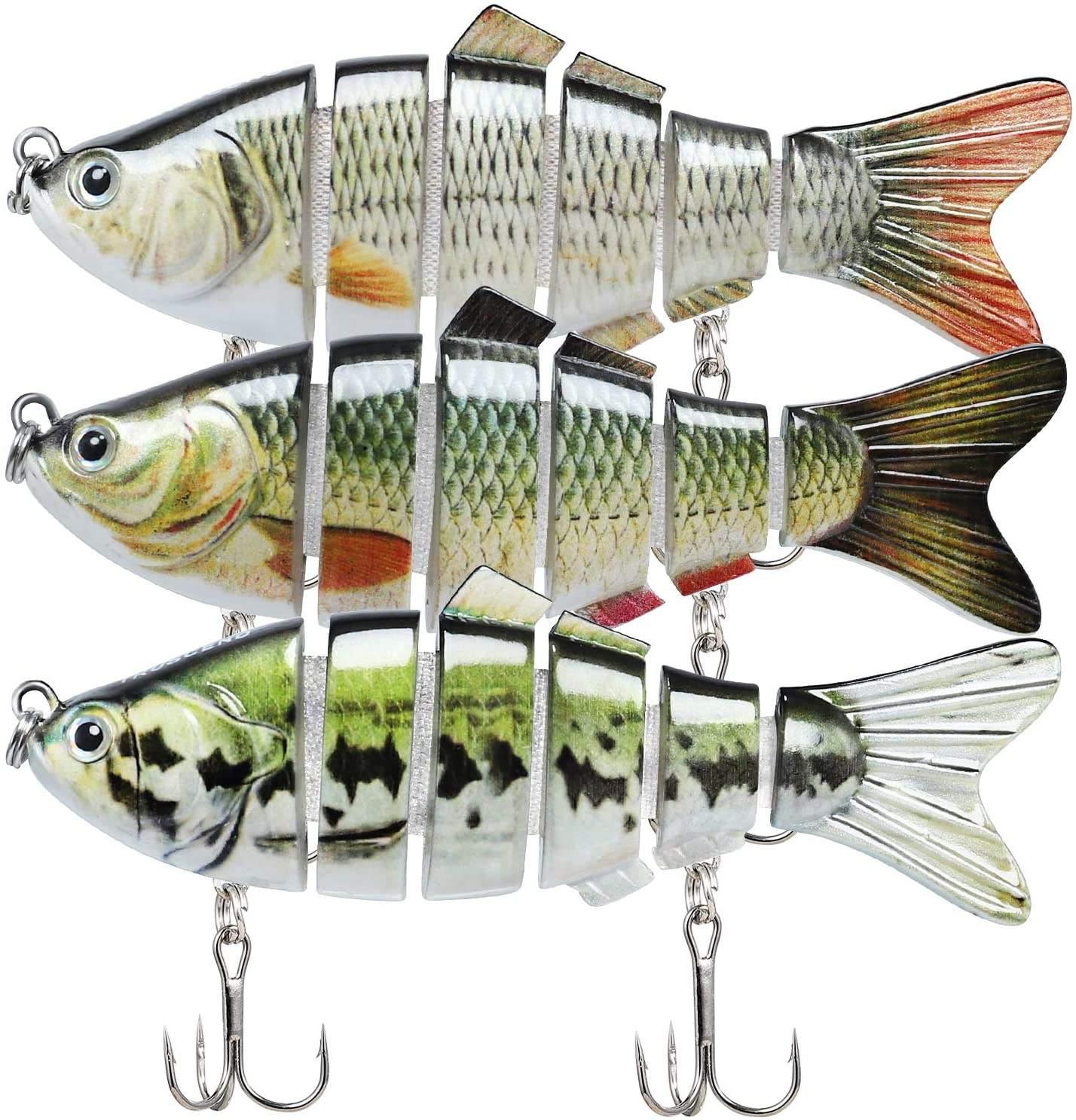 2pcs Fishing Lures Bionic Lures Metal Shaking Baits Trolling Wobblers Lures