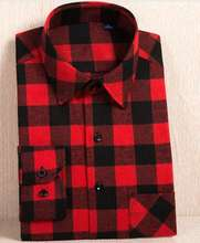 best selling cheap plus size 3xl 4xl 5xl  cotton checked plaid tartan flannel shirts