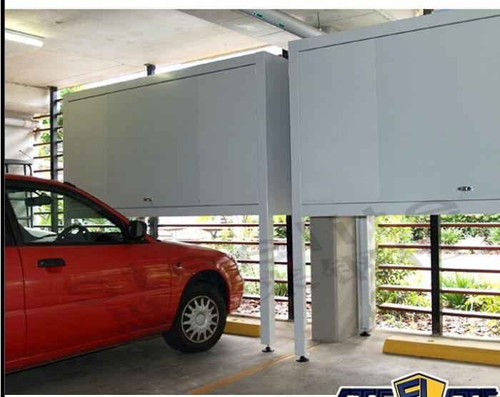 Grote veel Outdoor Auto Covers Metalen Locker Doos