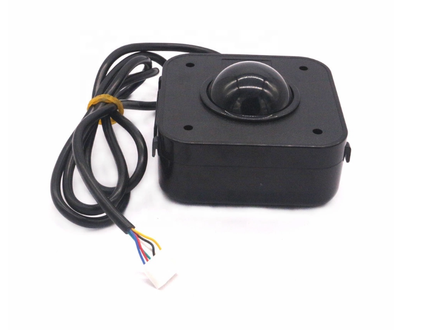 Arcade Game LED Color Changing trackball with USB and PS2 Interface