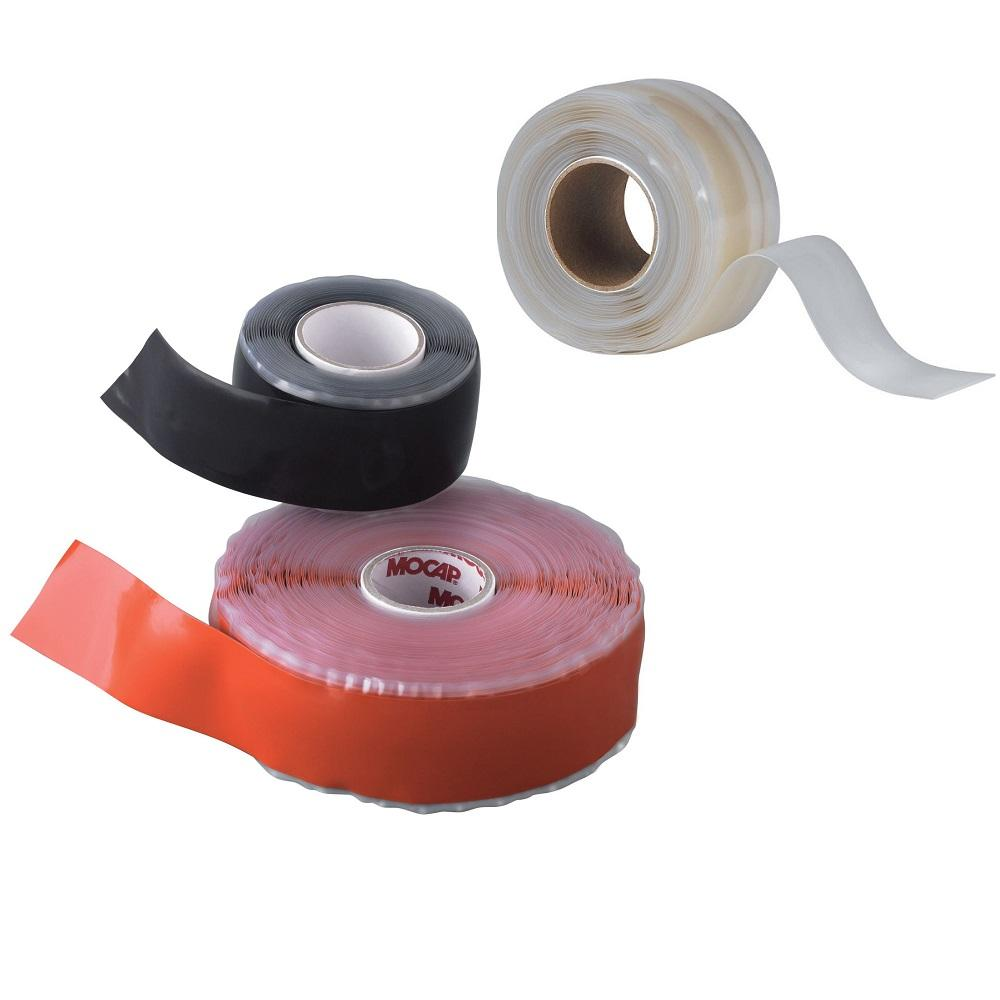Waterproof Self Fusing Tape Self-fusing Electrical Silicone Rubber Hose Leak Waterproof High Pressure Plumbing Repair Tape Silicone Self Fusing Tape