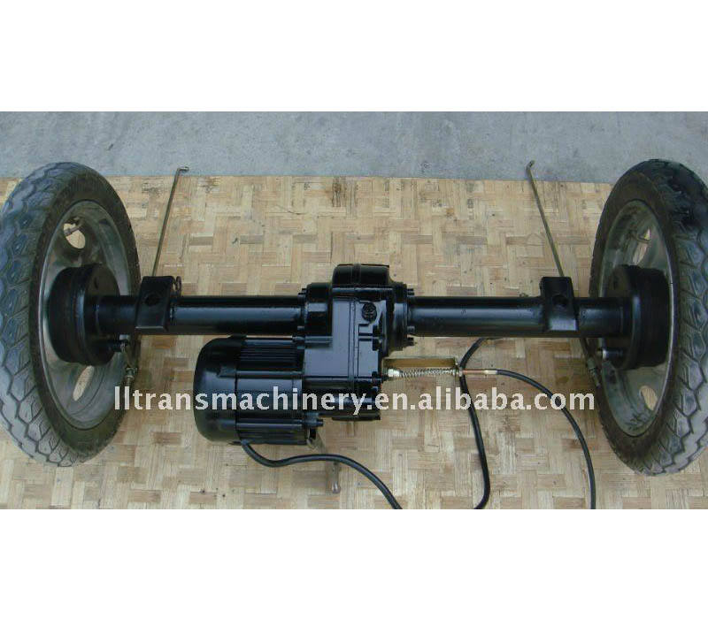 2 speed 800w electric tricycle rear axle